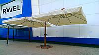 Зонт Дабл Эксель Модерн 3*4м, зонт для кафе, зонт для ресторана