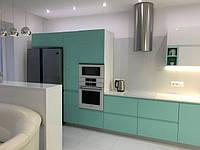 Кухня цвета мяты, фото 1