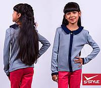Стильная кофта-блуза для девочки,весна-осень,ангора