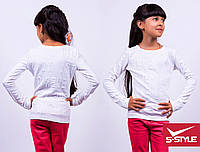 Модная кофта для девочки,ангора-джерси,весна-осень