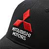 Бейсболка Mitsubishi Motors. Стильный аксессуар для автомобилиста. Черная., фото 5