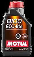 MOTUL 8100 Eco-lite SAE 0W20 (1L)