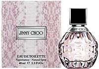 JIMMY CHOO EDT 40 ml  туалетная вода женская (оригинал подлинник  Франция)