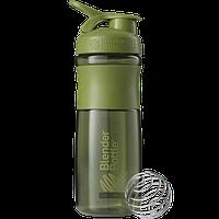 Шейкер Blender Bottle SportMixer, 820 мл (темно-зеленый)