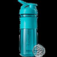 Шейкер Blender Bottle SportMixer, 820 мл (голубой)