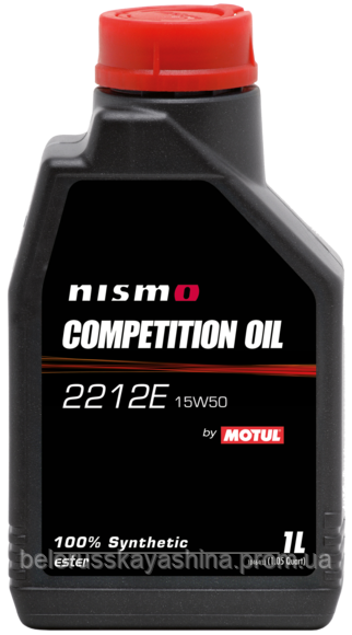 MOTUL Nismo Competition Oil 2212E SAE 15W50 (5L)