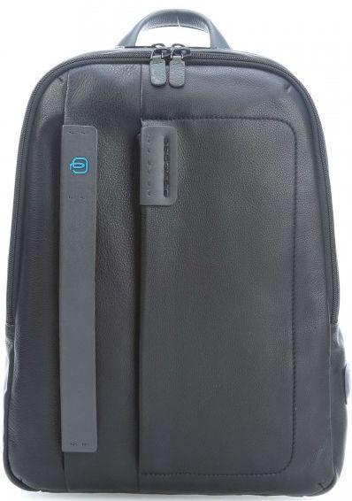 Рюкзак кожи Piquadro PULSE/Black, CA3869P15_N черный 12 л