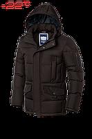 Куртка зимняя мужская Braggart Dress Code - 4260K шоколад