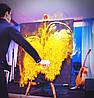Шоу Золота пил, портрет золота пудра у Львові Чернівці Київ Днепр
