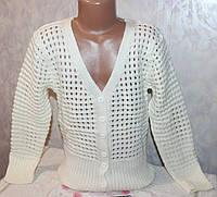 Детская одежда оптом.Вязанная кофта на девочку 8-9,10-11,12-13 лет