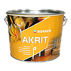 Краска Эскаро Акрит 4 глубокоматовая для стен и потолков ведро по 9,5 литра