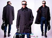 Элегантное мужское пальто плащевка +утеплители