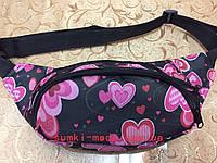 Принт Сумка на пояс(только ОПТ)Сумка бананка-Поясные сумки Спортивные