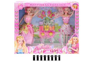 Куклы 2 шт с аксессуарами и одеждой 8122А2