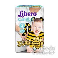 Подгузники Libero Comfort размер 3 (4-9 кг), 22 шт.