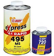 Лак MS 2К RAPID EXPRESS 4:1+отв. 1,25л, 6,25л, HB Body