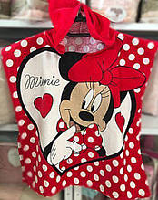 "Дитяче пляжне пончо ""Minni Mouse""-2"