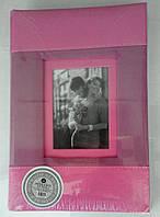 Альбом.Фотоальбом L-79 300ф. розовый