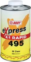 Лак MS 2К RAPID EXPRESS 4:1 1л, HB Body