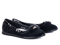 Детские балетки оптом. Детские туфли бренда Башили для девочек (рр. с 30 по 36)