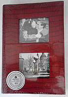 Альбом.Фотоальбом L-82 300ф. красный.