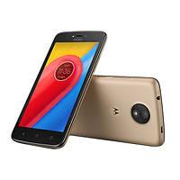 Мобільний телефон Motorola Moto C Plus XT1723 16GB Gold