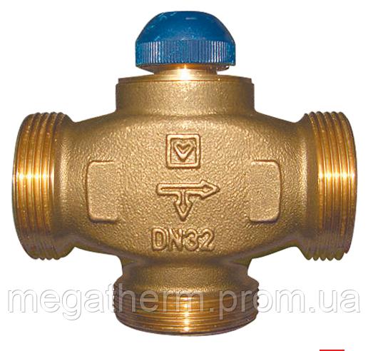 """Клапан трехходовой термостатический Herz CALIS-TS-RD DN25 G1 1/4"""""""
