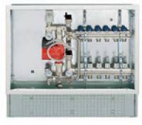 FIV никелированный регулировочный блок Floor Controller