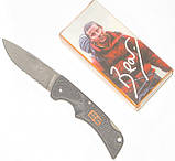 Нож брелок Gerber Bear Grylls Compact Scout серрейтор, фото 4