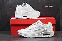 Купить Женские кроссовки Nike Air Max 90 код 2682 белые