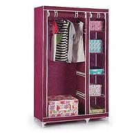 Шкаф органайзер для одежды на 2 секции из ткани
