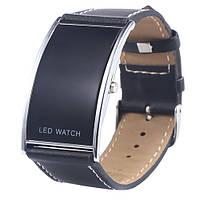 Часы светодиодные Цифровые LED Наручные Часы годинник Спортивные Электронные Подарки Мужчины Унисекс Женские