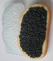 Пластиковая форма для мыла Икра черная