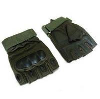 Перчатки тактические Oakley BC-4624-G темно-зеленые - L