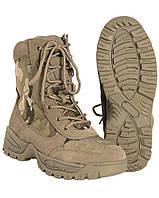 Ботинки тактические на молнии, Multicam