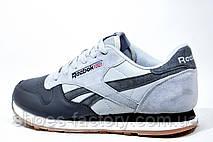 Мужские кроссовки в стиле Reebok Classic Leather PM, Gray, фото 2