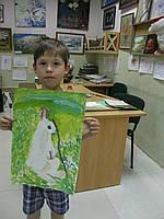 """Картина """"Кролик"""""""
