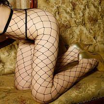 Колготки - Крупная сеточка, фото 3