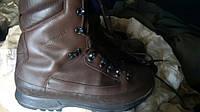 Ботинки KARRIMOR SF Boots Combat ColdWetWeather Brown Берцы Коричневые