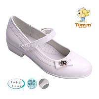 Туфли белые для девочек  Tom.m  Размеры: 32-37