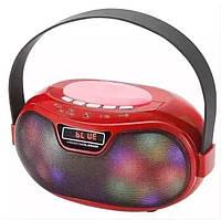 Портативная Bluetooth колонка WS-1803B со светомузыкой, фото 1
