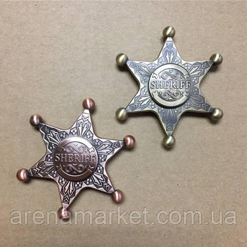 Фиджет cпиннер Значок Шерифа