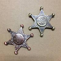 Фиджет спиннер Значок Шерифа, фото 1