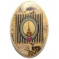 Ключница вешалка Париж деревянная