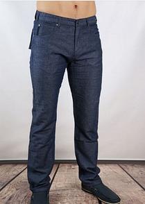 Лляні штани Montana темно-сині 20054