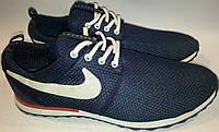 Кроссовки дышащие летние р41 NIKE 689 синие