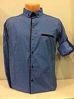 Мужская рубашка короткий - длинный рукав S,XL,2XL