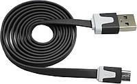 Кабель USB/micro-USB 1.0 м flat V8