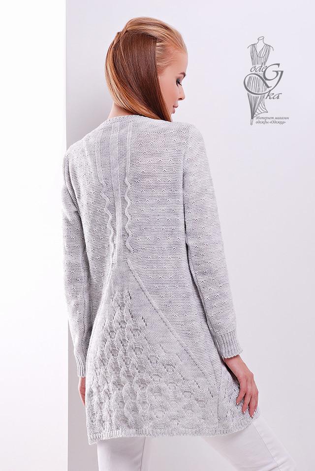 Фото-1 Красивой женской кофты кардиган Данна-5