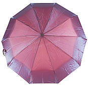 Женский прочный зонтик автомат с переливающимся куполом RAINBOW art. 0083 красно синий перелив(101329)